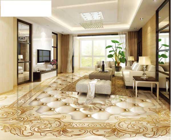Điểm danh các mẫu gạch lát nền phòng khách được yêu thích hiện nay 5