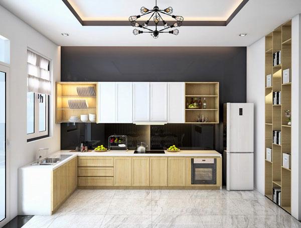 Thiết kế phòng bếp đẹp phụ thuộc vào những yếu tố nào? 2