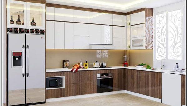 Thiết kế phòng bếp đẹp phụ thuộc vào những yếu tố nào? 3