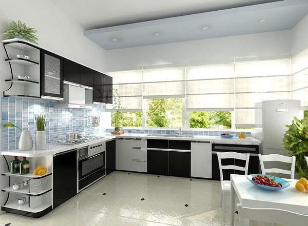 Thiết kế phòng bếp đẹp phụ thuộc vào những yếu tố nào? 6
